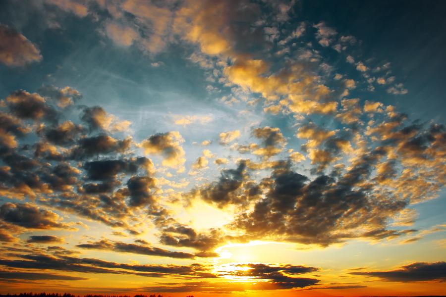 Sunset Over Prospect