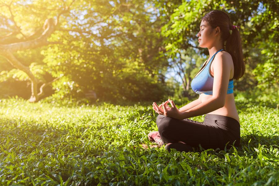 Sunset Yoga at Riverside