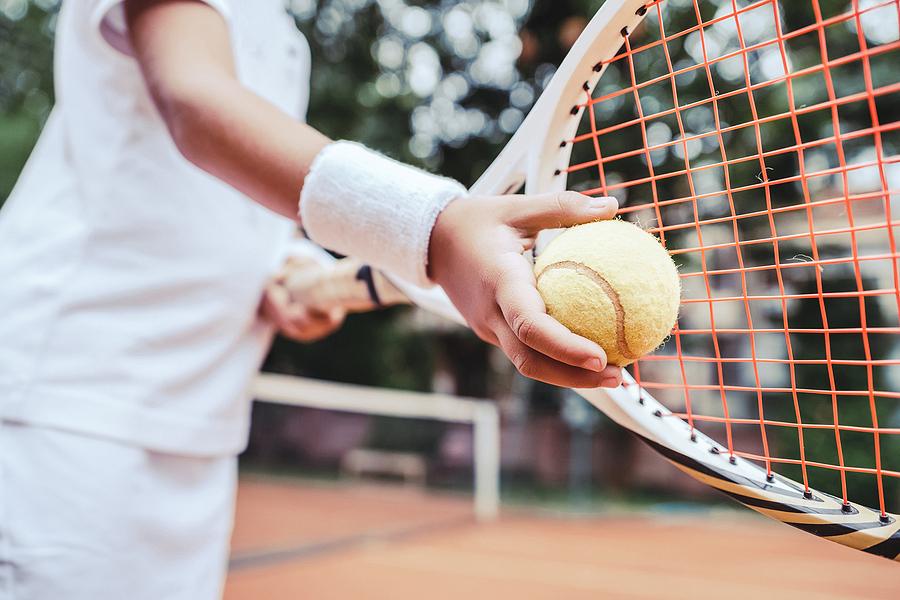 Tennis in Seneca Park