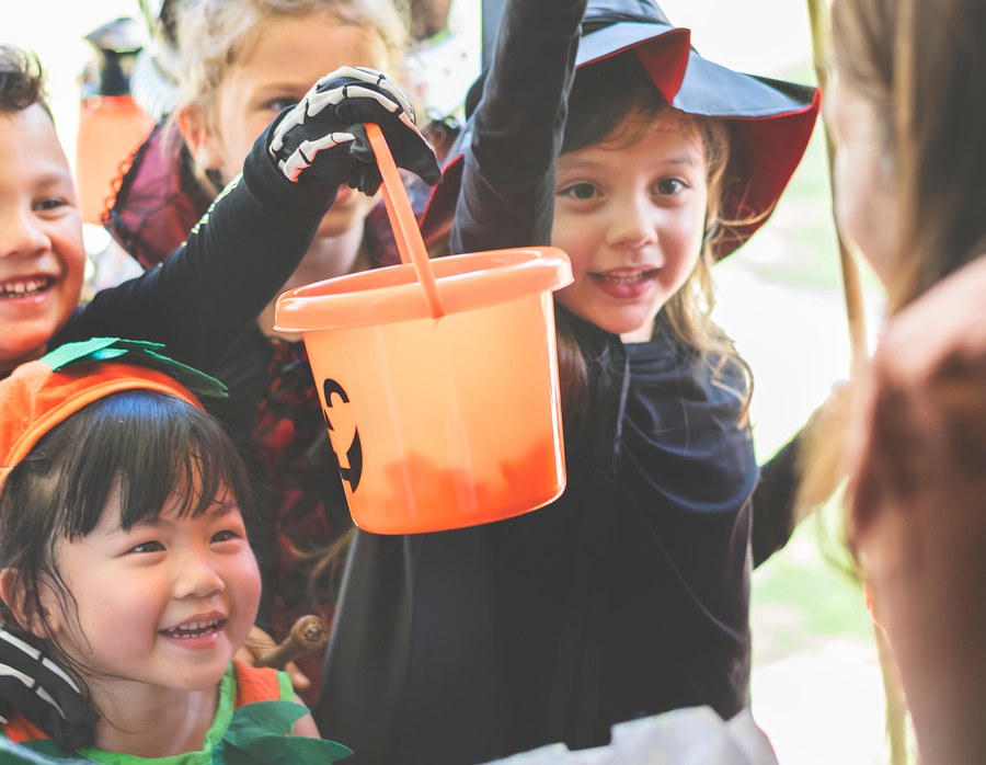 Trunk or Treating at the Hope Lutheran Church