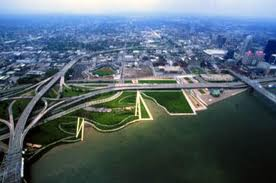 Waterfront Park in Louisville, Kentucky