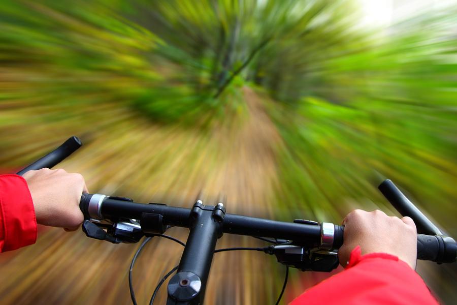 Women's Mountain Bike Ride in Cherokee Park