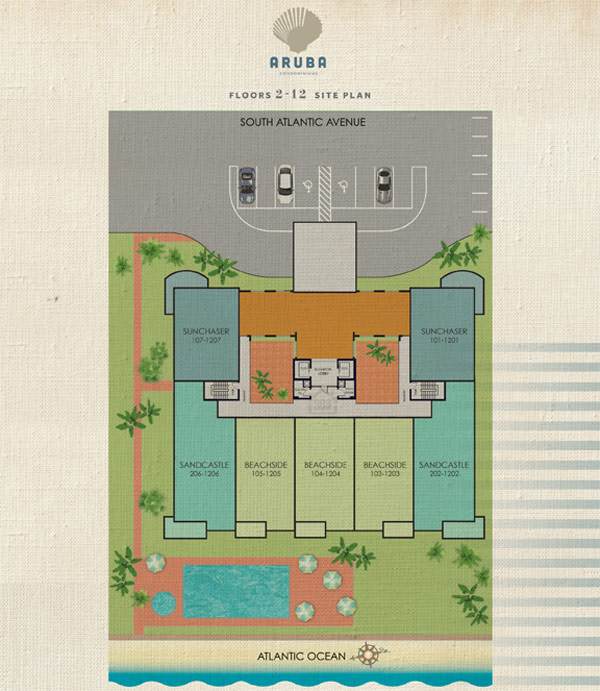 Aruba Condominium Siteplan2