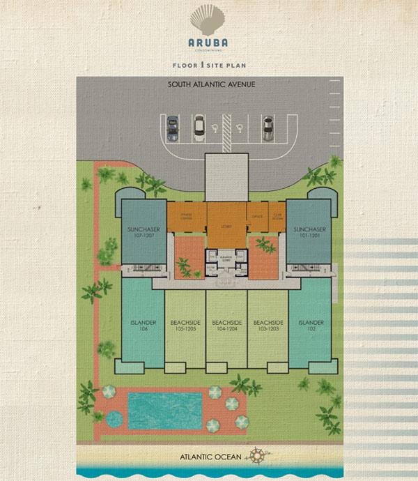 Aruba Condominium Siteplan