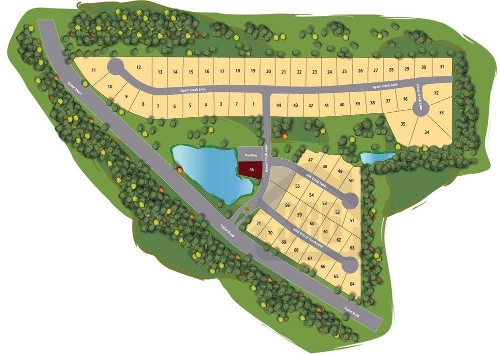 Brown's Landing Community Map