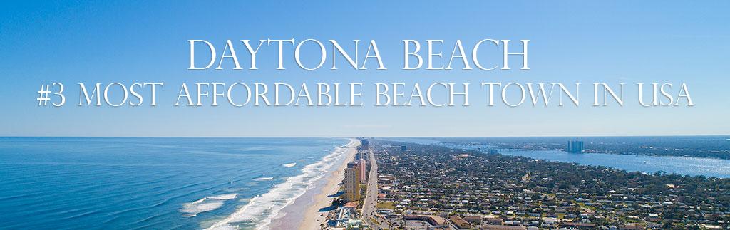 daytona beach affordable beach town