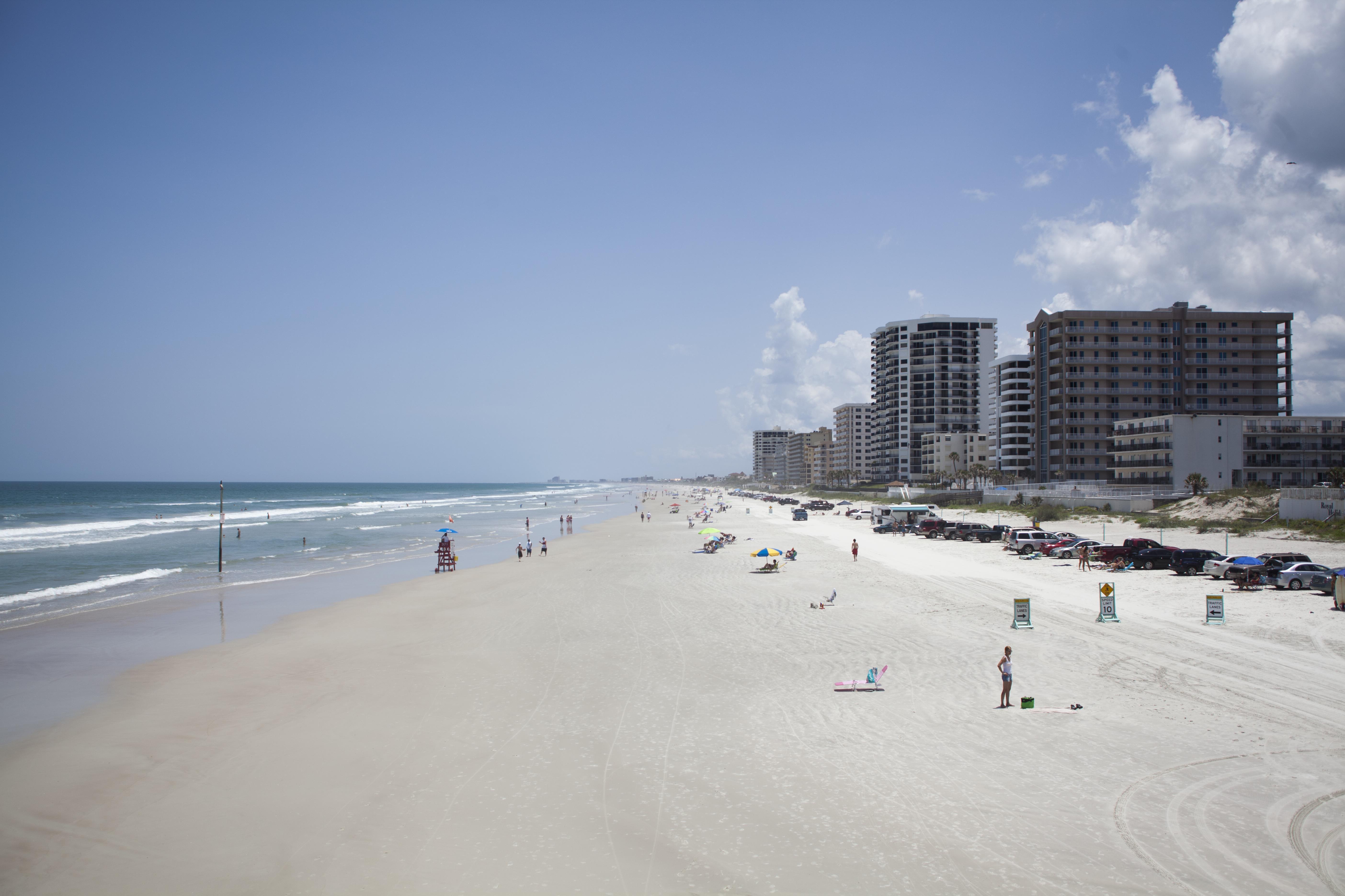 Daytona Beach Shores beach sand