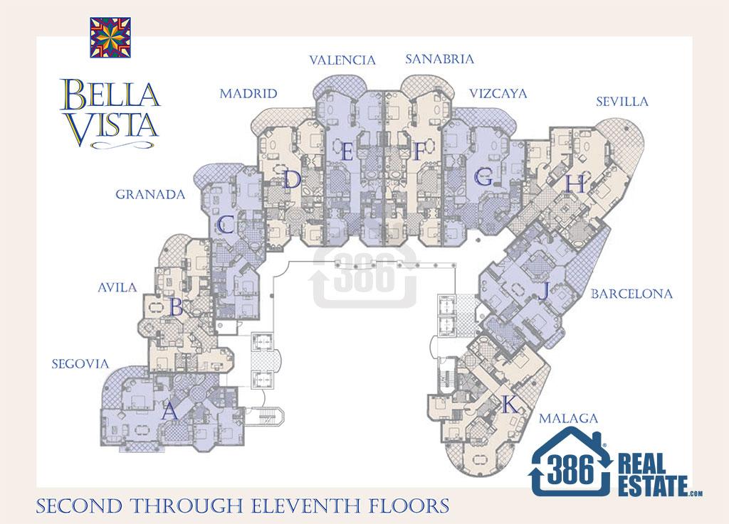 Bella Vista Site Plan