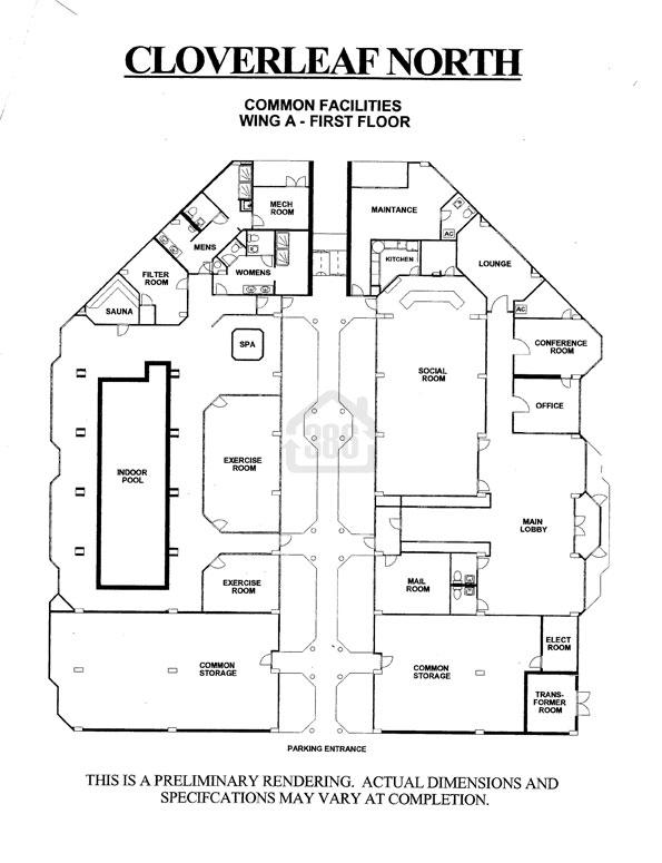 Cloverleaf North Common Facilities
