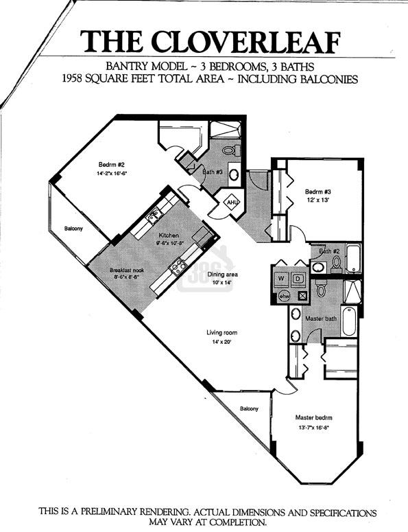 Bantry Floor Plan