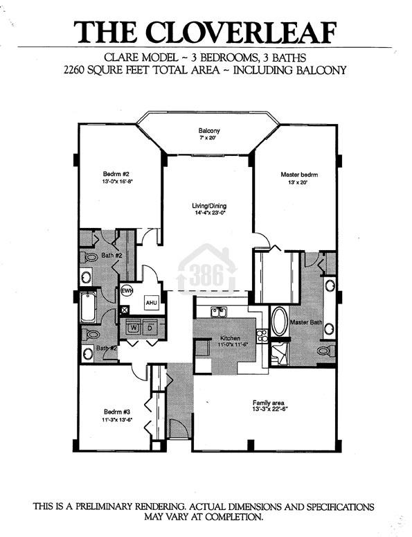 Clare Floor Plan