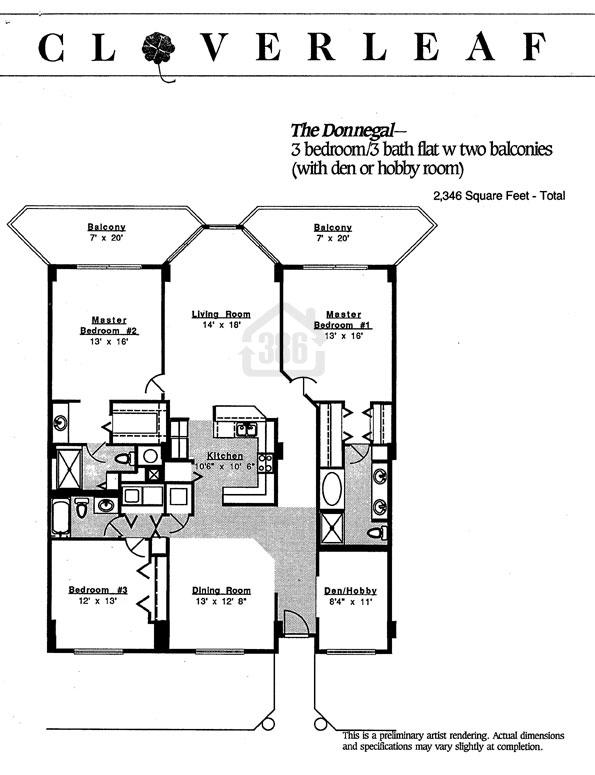Donnegal Floor Plan