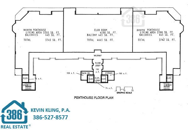 Grand Coquina Condo Penthouse Floor Plan