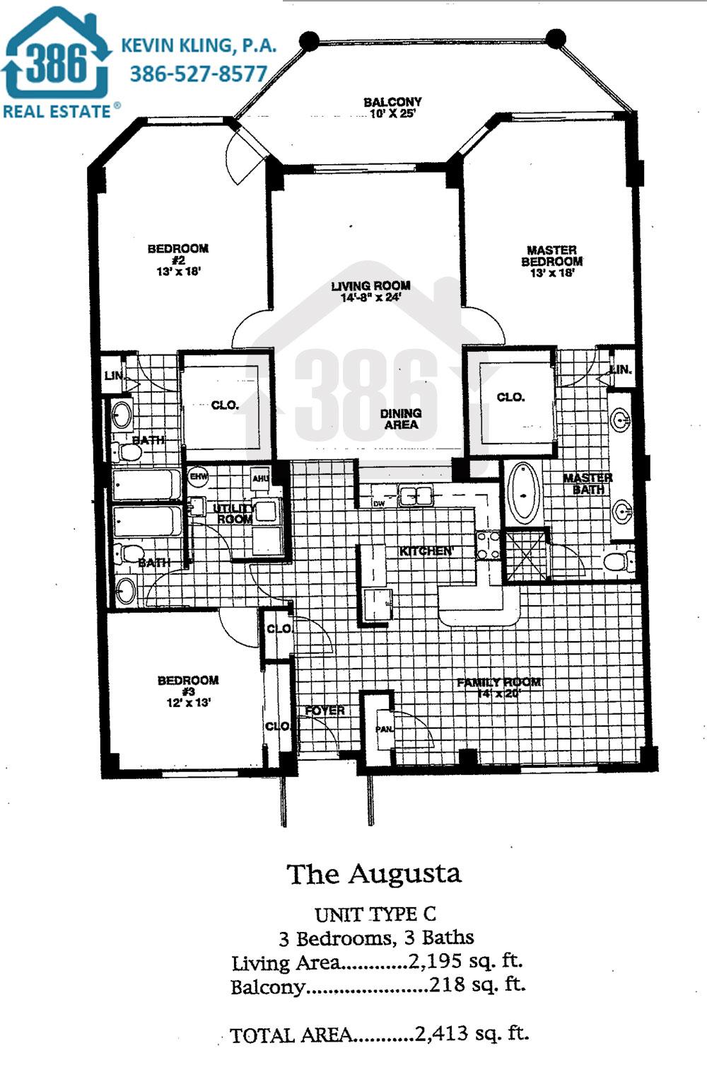 Links Augusta Floor Plan