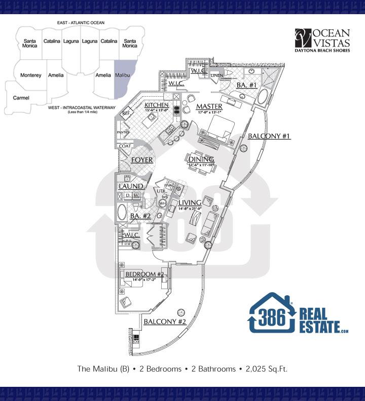 Malibu Floor Plan 10