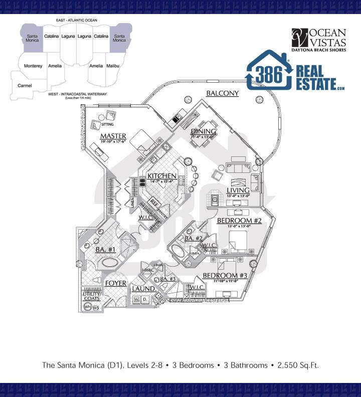 Santa Monica 2nd-8th Floor Plan 09
