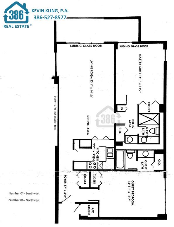 01 & 06 Floor Plan