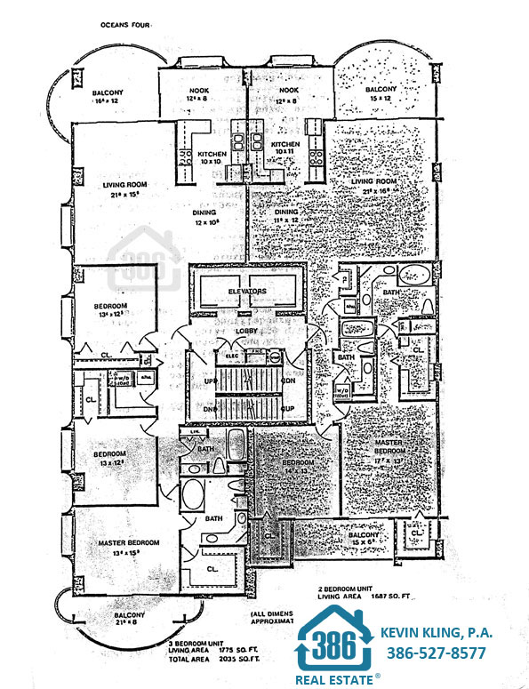 Oceans Four 2 bed & 3 bed