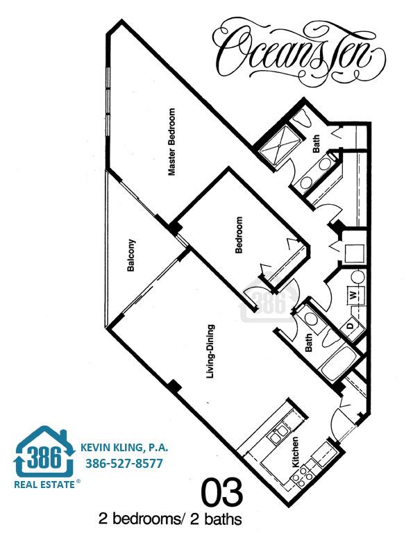 Oceans Ten 03 Floor Plan