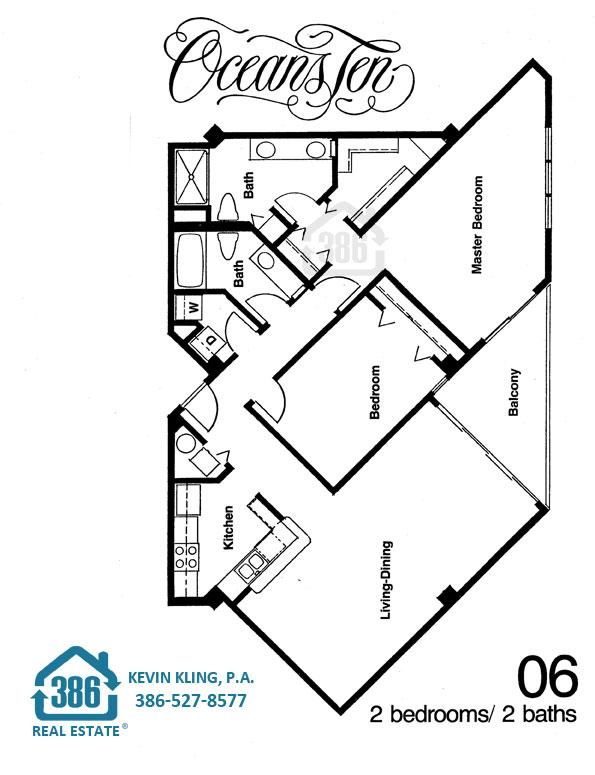 Oceans Ten 06 Floor Plan