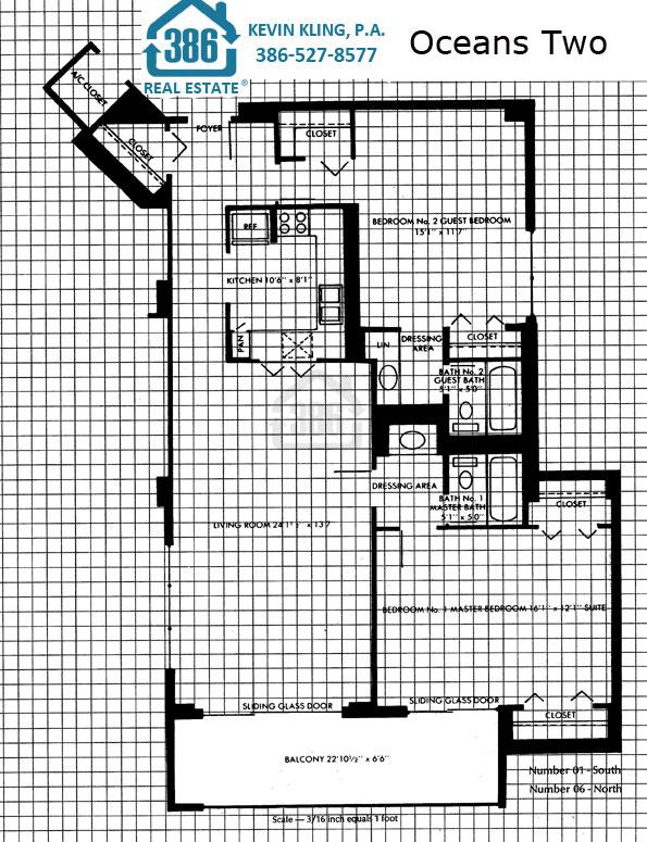 01 & 06 floor plan Oceans Two
