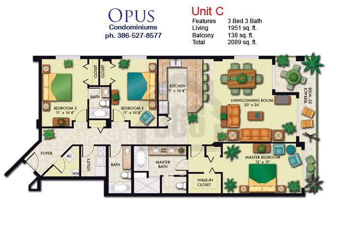 Opus C Oceanfront