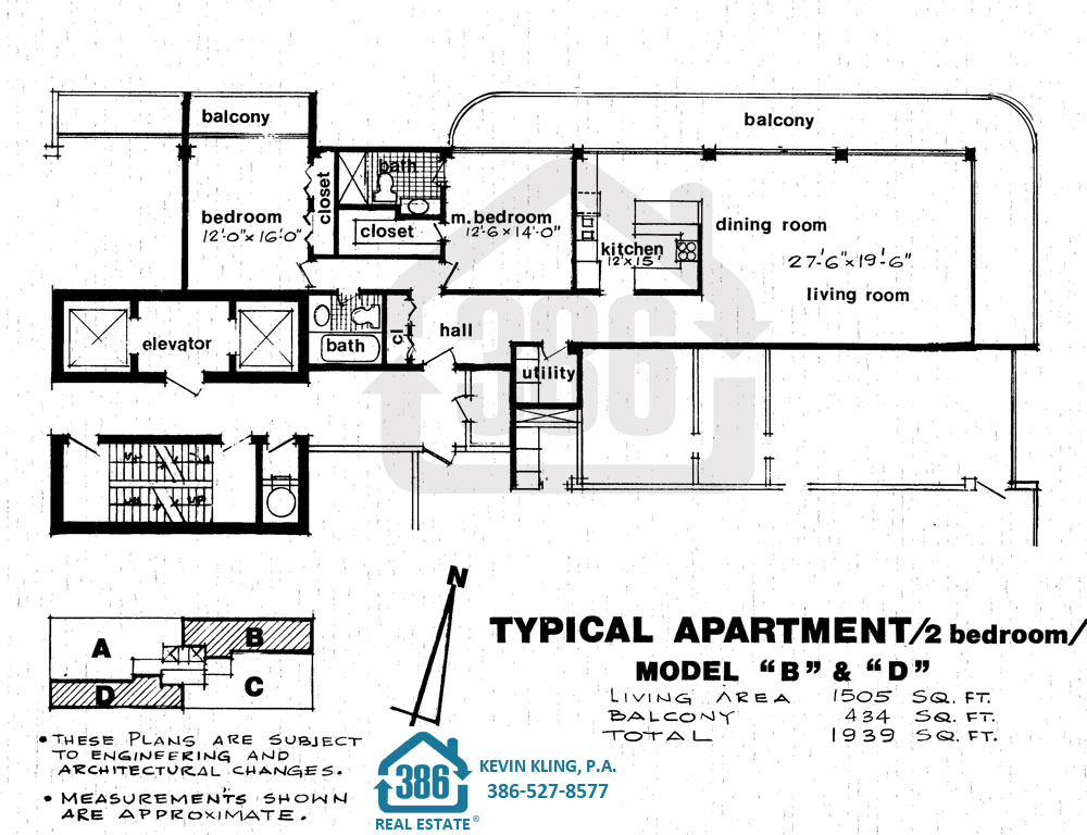 2 Bed Floor Plan