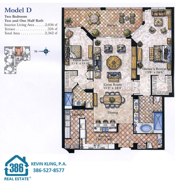 Seacrest D Floor Plan
