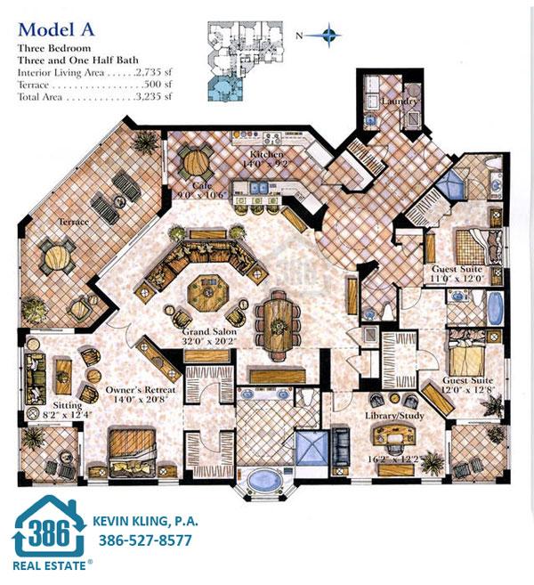 Seacrest A Floor Plan