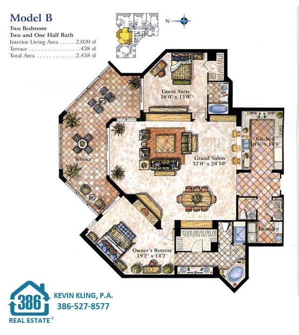 Seacrest B Floor Plan
