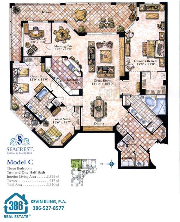 Seacrest C Floor Plan