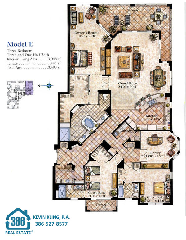 Seacrest E Floor Plan