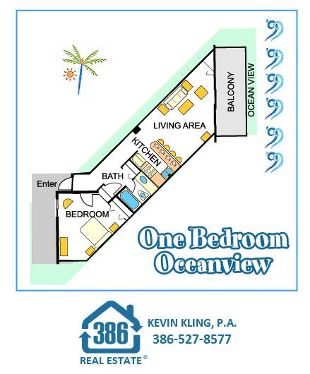 1 Bed Oceanview