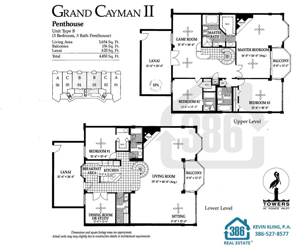 Grand Cayman II Floor Plan