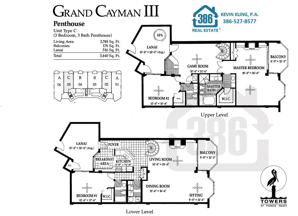 Grand Cayman III Floor Plan