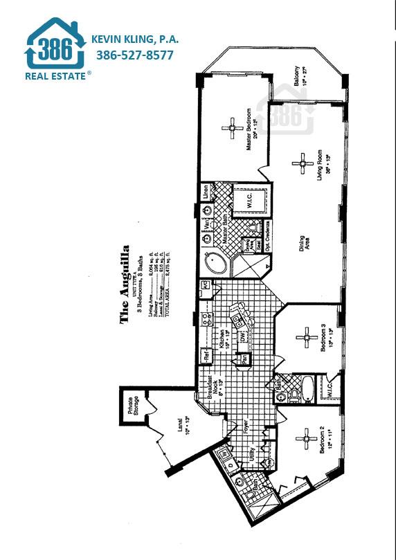 Anguilla Floor Plan