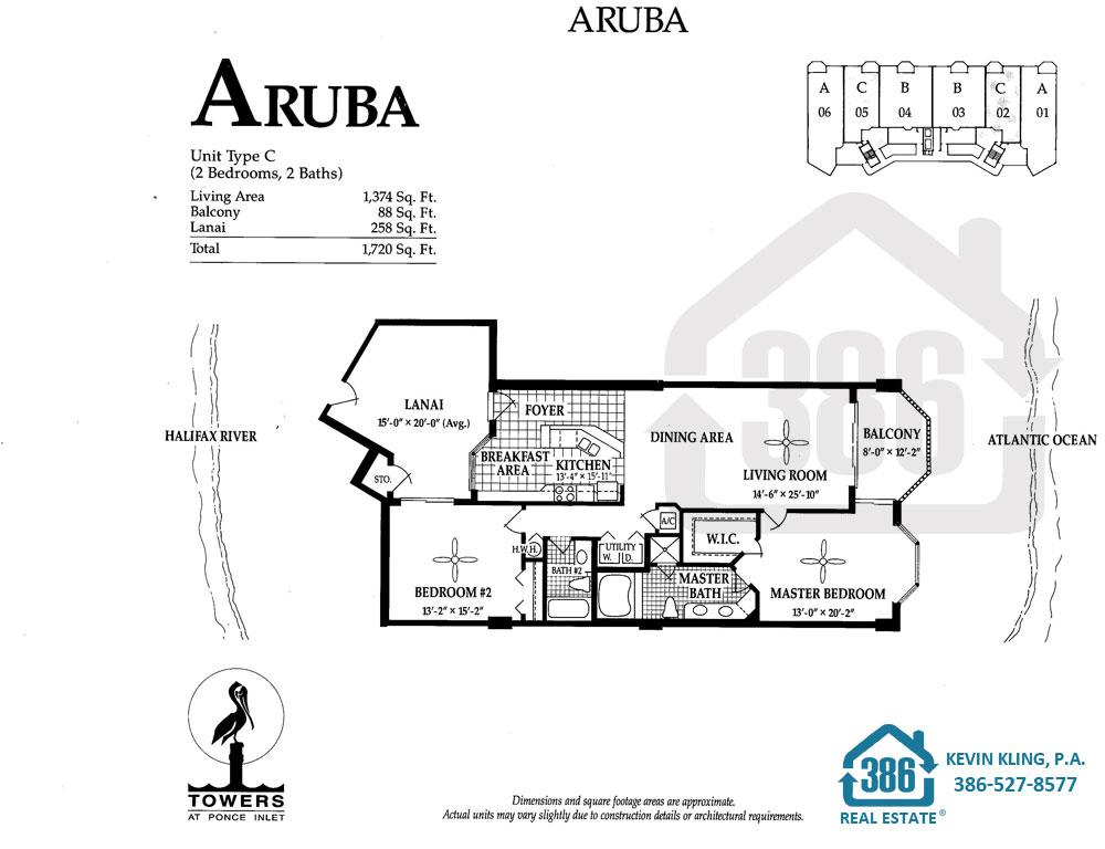 Aruba Floor Plan