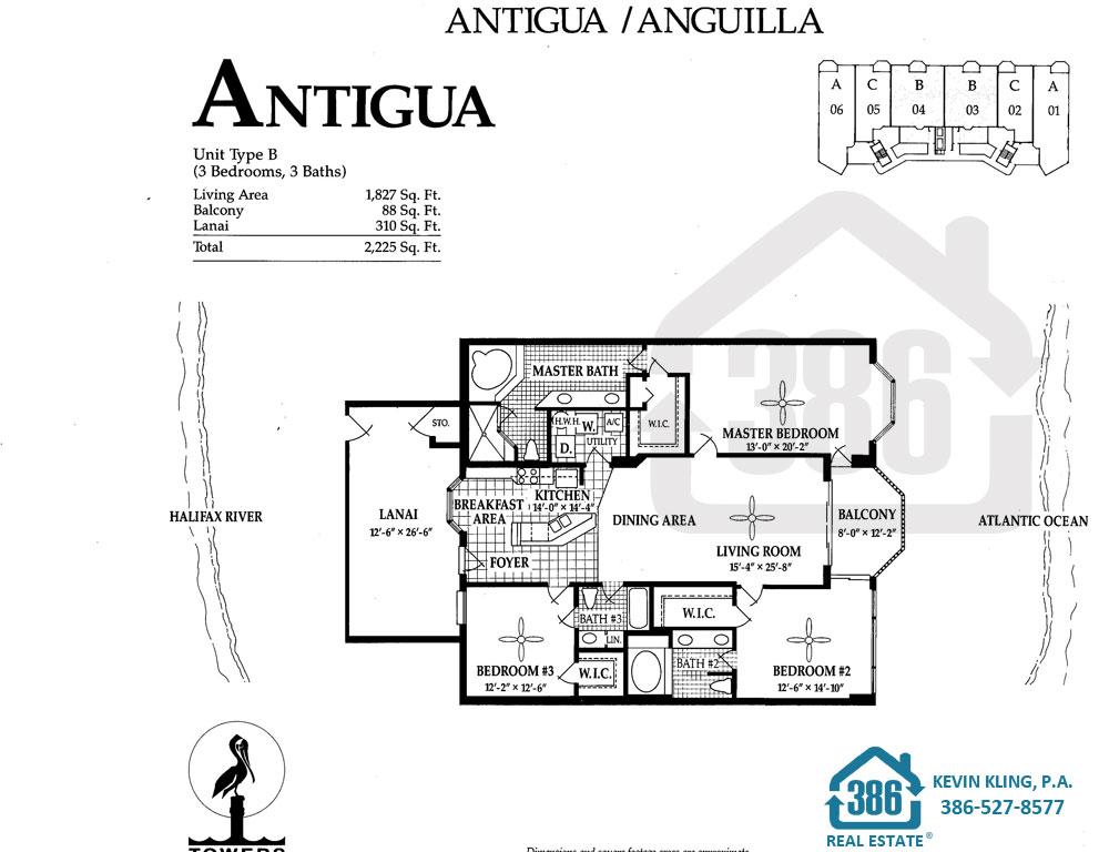 Antigua Floor Plan