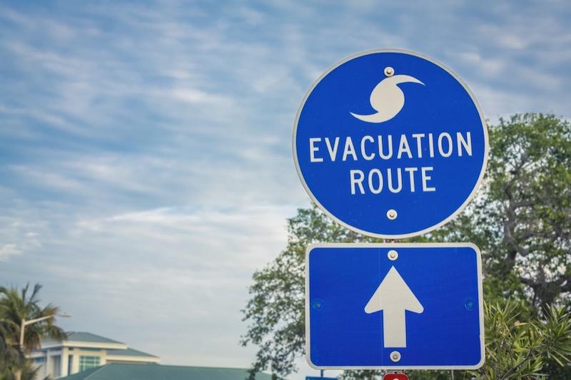 Establish a Hurricane Evacuation Plan