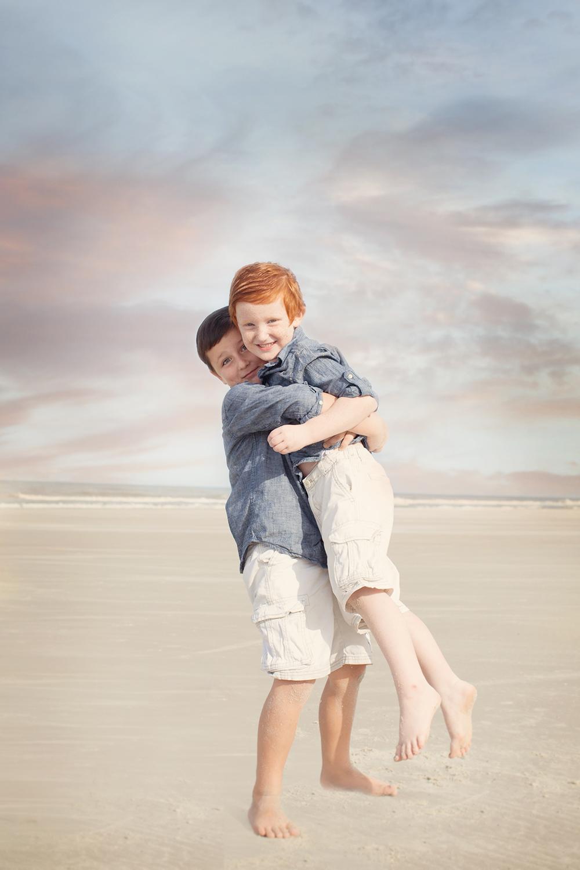 Kling Kids on the Beach