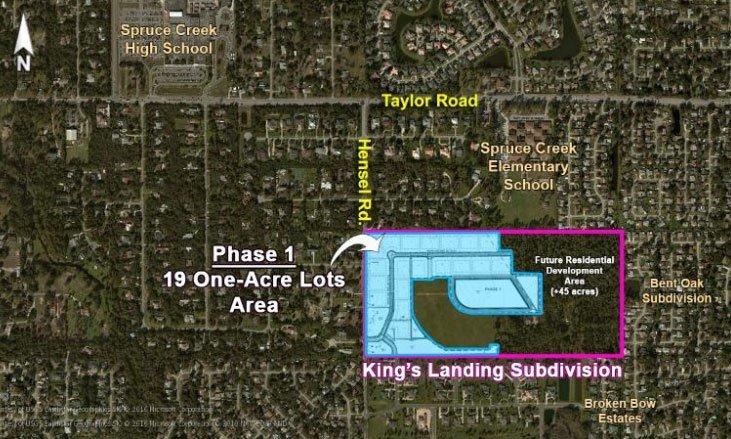 King's Landing Community Map