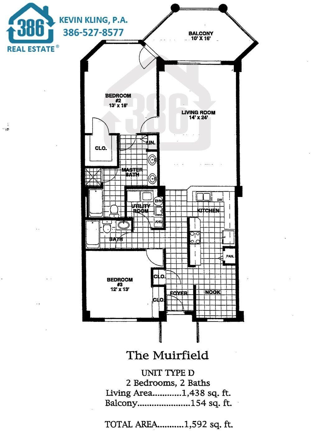 Links Muirfield Floor Plan