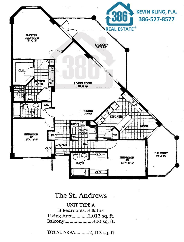 Links St. Andrews Floor Plan