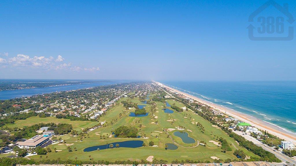 ormond beach river ocean golf view