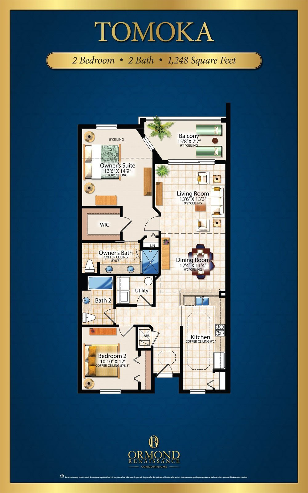Tomoka Floor Plan