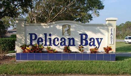 Pelican Bay Sign