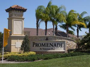 Promenade Park Community Sign