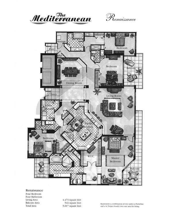 Renaissance Floor Plan