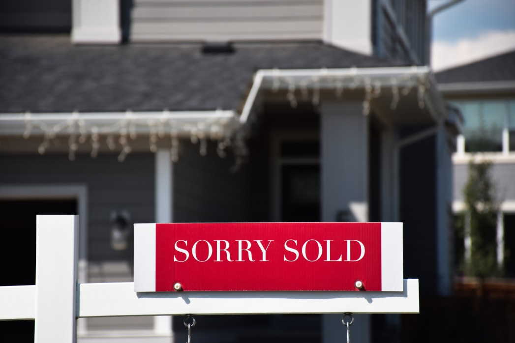 Sorry Sold Sign low inventory charleston real estate market