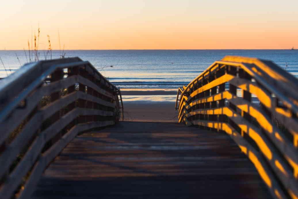 Pier to James Island Beach
